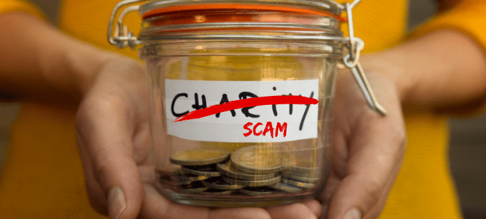 Avoid Charity Scams