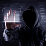 hacker looking online for cybercrime prevention